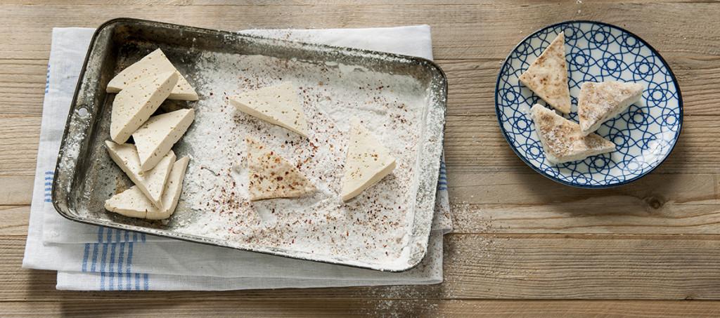 tofu in beslag