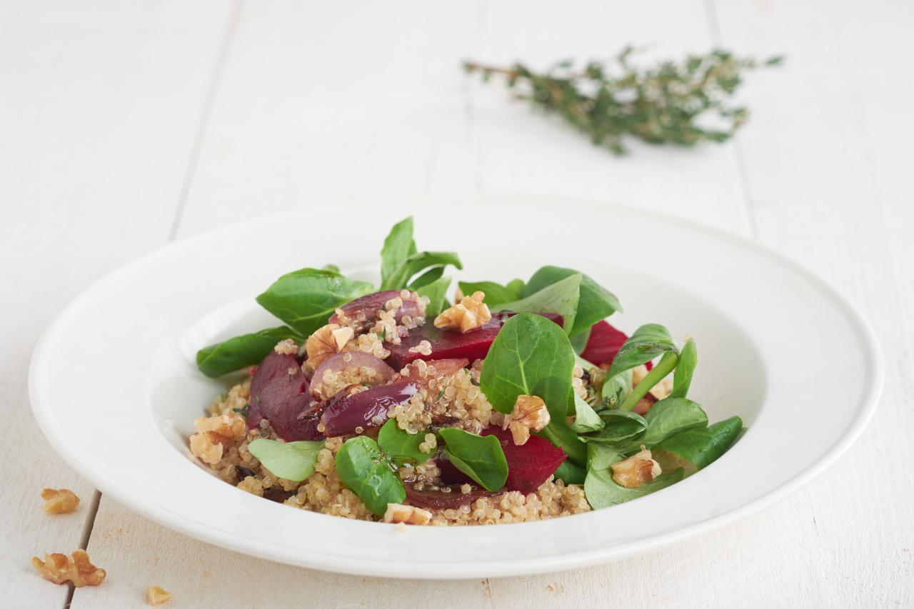 Bietensalade met Quinoa