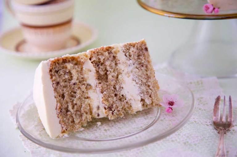Ei-vrije, glutenvrije vanillecake