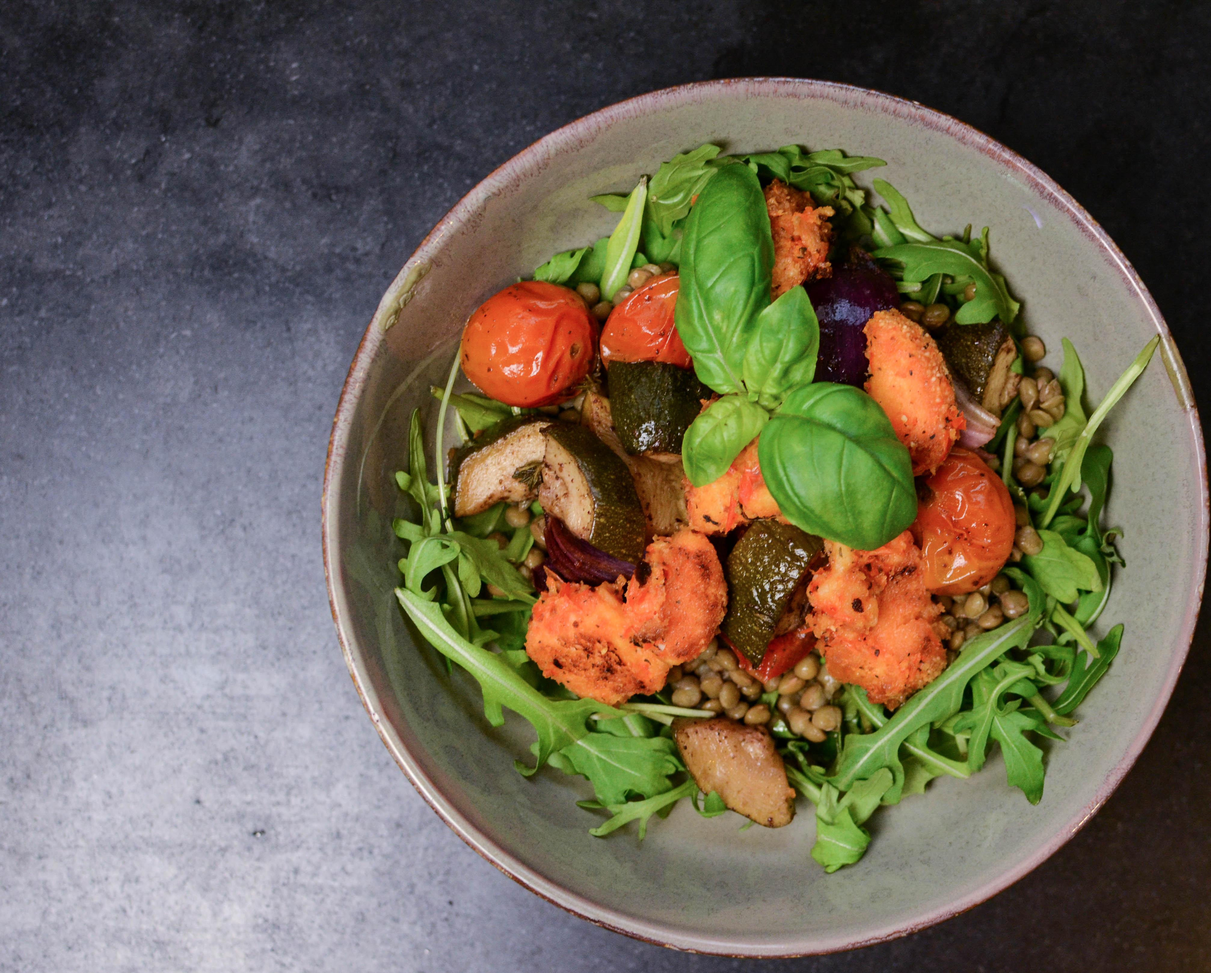 Italiaanse groente uit de oven met een oosters tintje